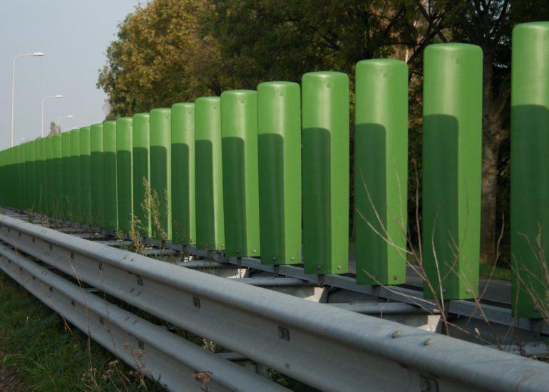 groene verkeerslamellen