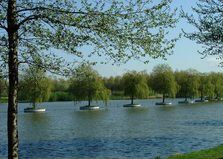 Boomeilandjes Zoetermeer zijn overgebleven van Floriade van 1992